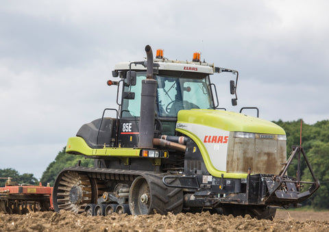 Claas Challenger 85E Cultivating Poster print