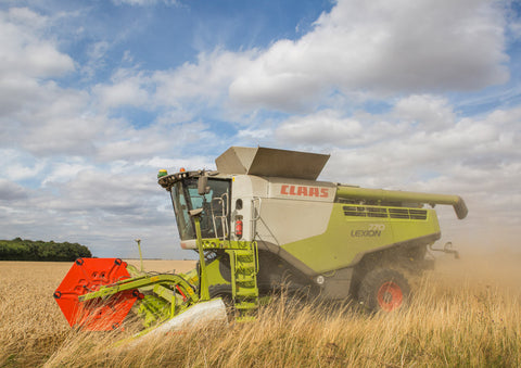 Claas Lexion 770TT Combine Harvester Poster print