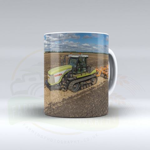 Claas 75E Ceramic mug.