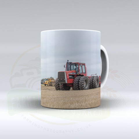 Massey Ferguson 4840 Cultivating Ceramic Mug