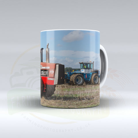 Massey Ferguson 4840 and Ford FW60 Automatic Ceramic Mug