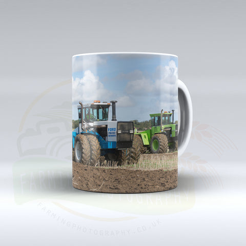 Ford FW60 Automatic and Steiger Panther Series IV Cultivating Ceramic Mug
