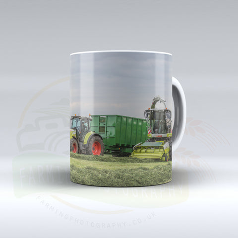 Claas Equipment Silaging Ceramic Mug