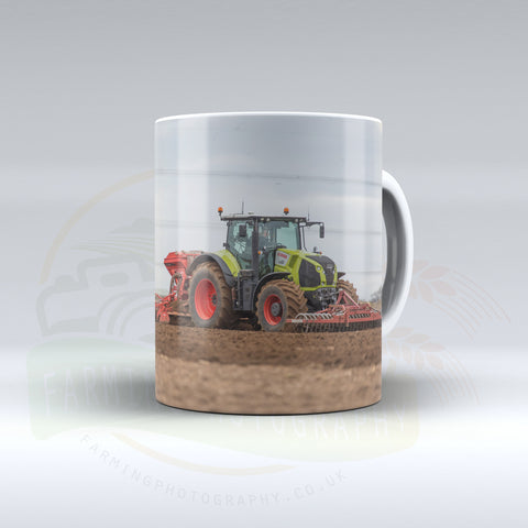 Claas Axion Drilling Ceramic Mug
