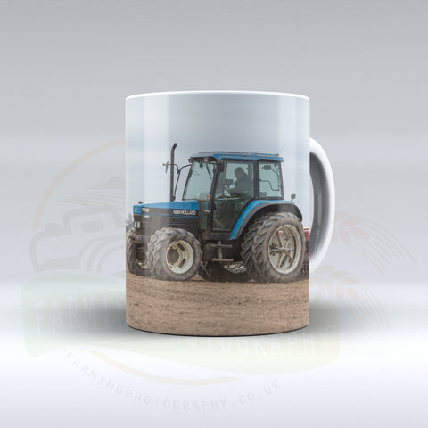 New Holland 7740 Drilling Ceramic Mug
