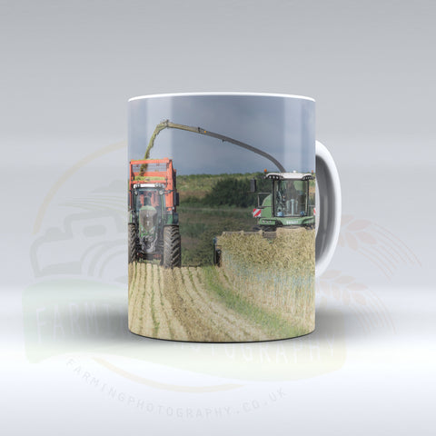 Fendt Equipment Silaging Ceramic Mug
