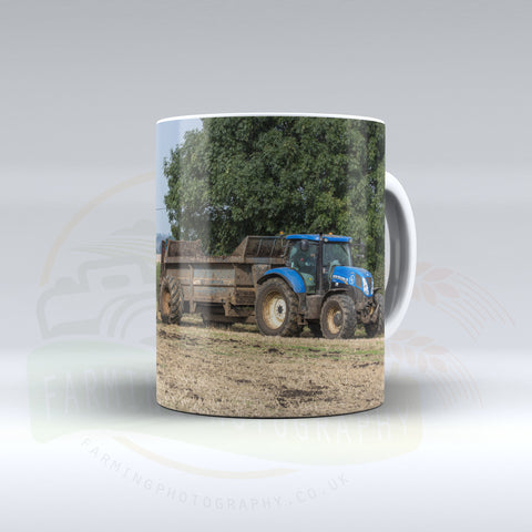 New Holland and Muck Spreader Ceramic Mug