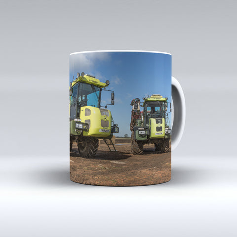 S Trac Self Propelled Sprayers Ceramic Mug