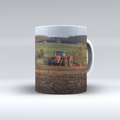 Massey Ferguson 8700 Series Drilling Ceramic Mug