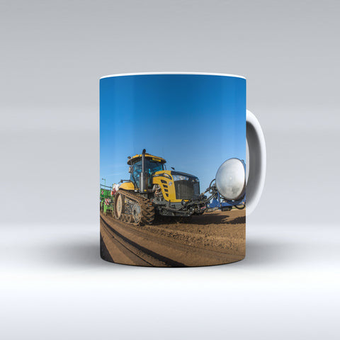 Challenger Crawler Planting Potatoes Ceramic Mug