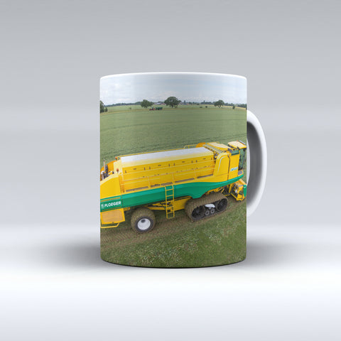 Ploeger Pea Viner At Work Ceramic Mug