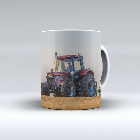 Case IH 1255XL Ploughing Ceramic Mug