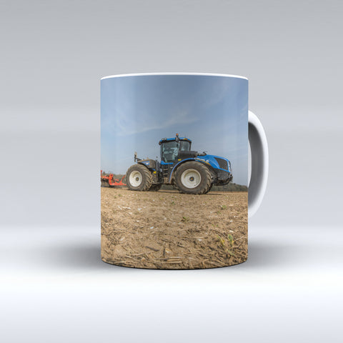 New Holland T9 Series Cultivating Ceramic Mug