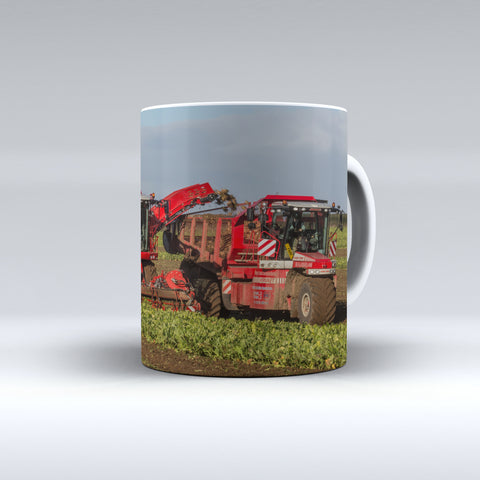 Vervaet Trike Carting Sugarbeet Ceramic Mug