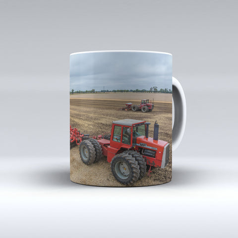 Massey Ferguson 4840 and 1505 Tractors Ceramic Mug