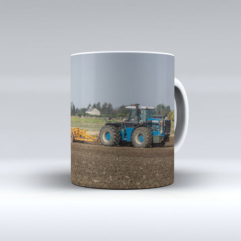 Ford Versatile 946 Cultivating Ceramic Mug