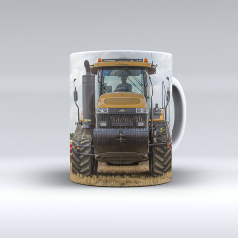 Challenger Tractor Cultivating Ceramic Mug