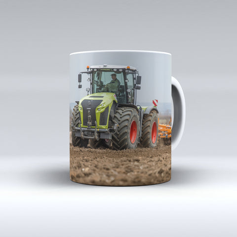 Claas Xerion Cultivating Ceramic Mug