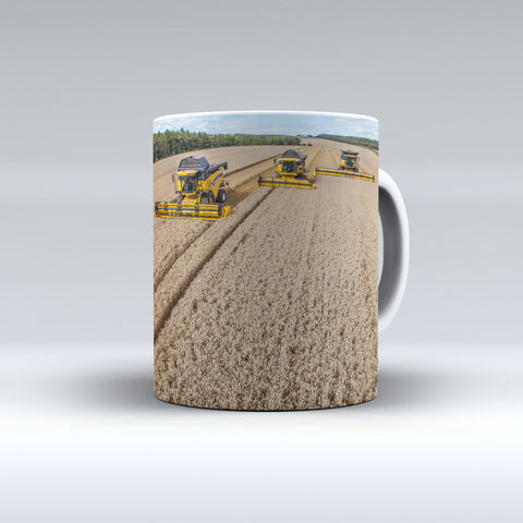 New Holland Combine Harvesters Ceramic Mug