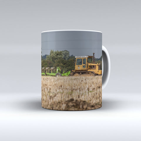 Caterpillar D6 Ploughing Ceramic Mug