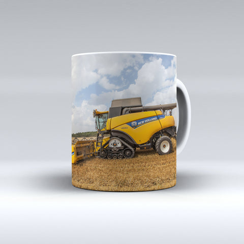 New Holland Combine Harvester Ceramic Mug
