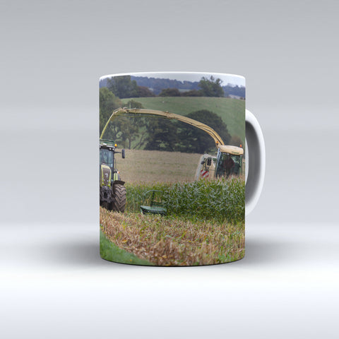 Krone Big X Forager Silaging Maize Ceramic Mug