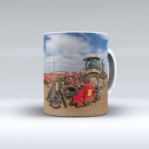 Challenger Crawler Power Harrowing Ceramic Mug
