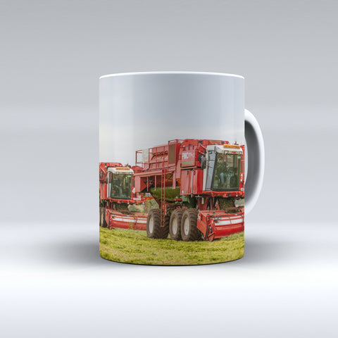 Pea Viners At Work Ceramic Mug