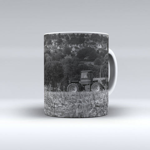 John Deere 8440 Cultivating Ceramic Mug