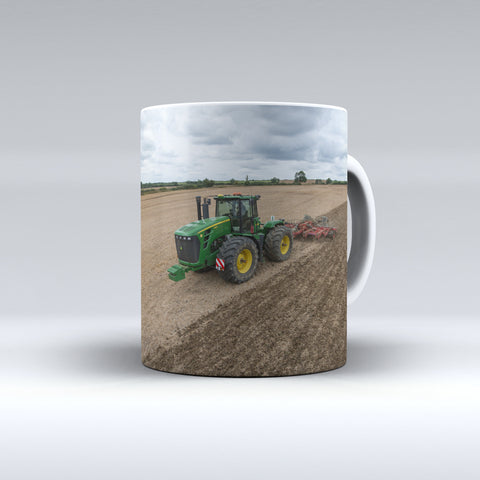 John Deere 9330 Cultivating Ceramic Mug