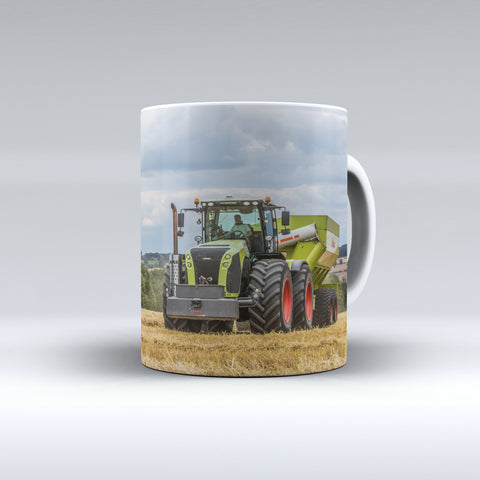 Claas Xerion 5000 and Matching Chaser Bin Ceramic Mug.