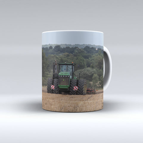 John Deere 9630 Cultivating Ceramic Mug.