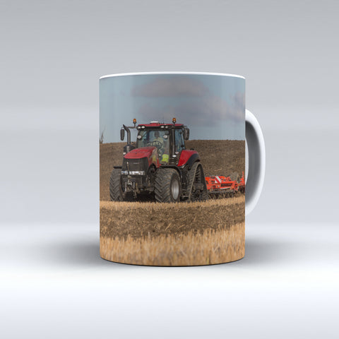 Case IH Magnum Rowtrac Cultivating Ceramic Mug.