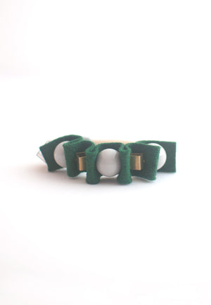 Green Rubber Band Bracelet - sanwaitsai