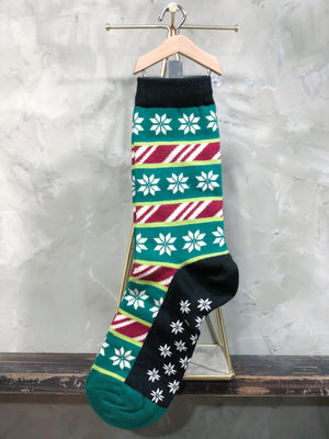 Leaves Snows Socks