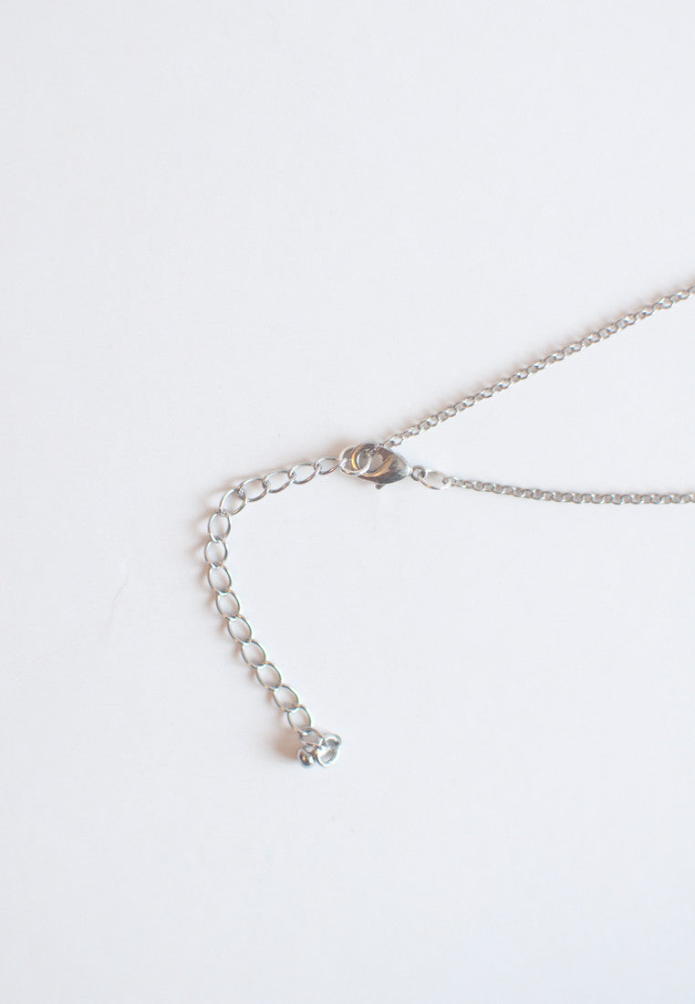 Grey Beads Necklace - sanwaitsai