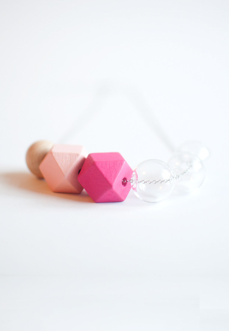 Wooden Bead Necklace - sanwaitsai