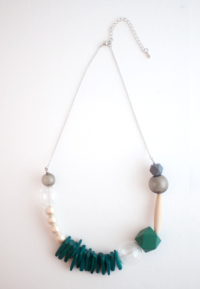Natural Wood Necklace - sanwaitsai - 8