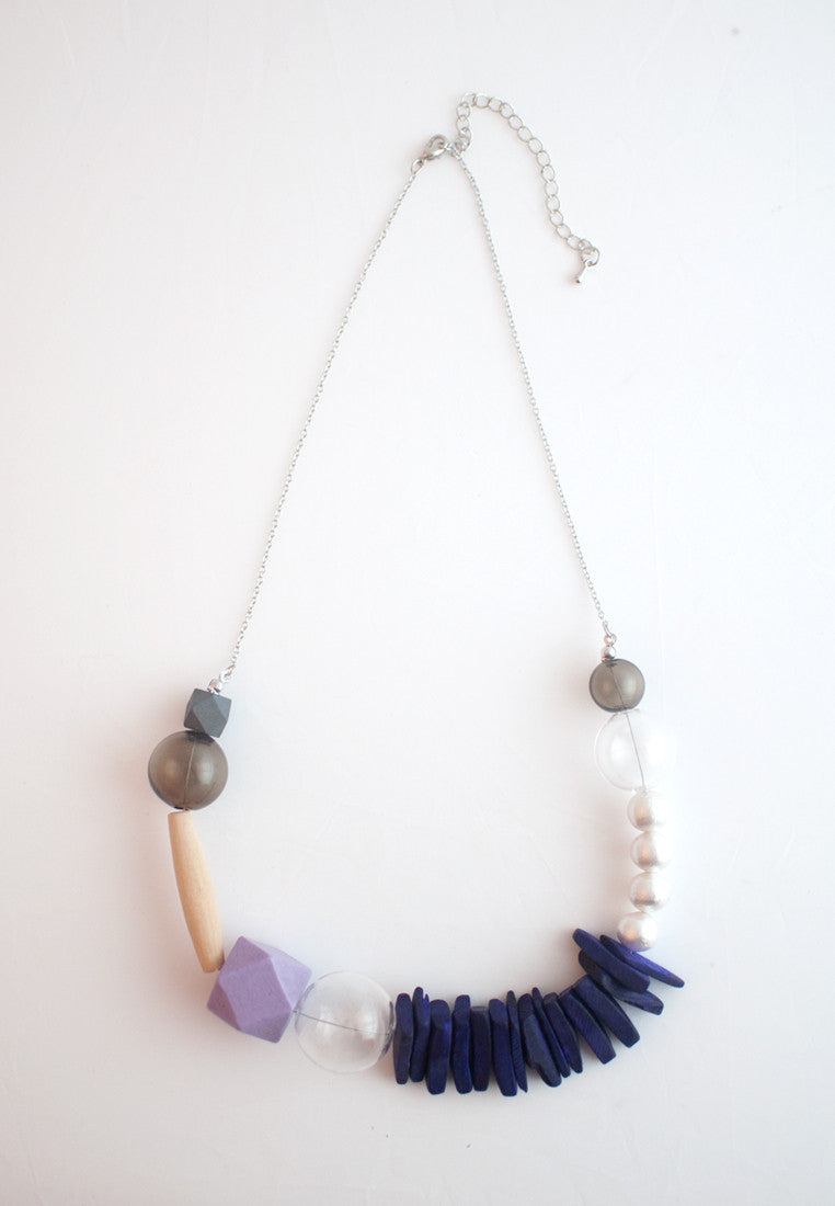 Natural Wood Necklace - sanwaitsai
