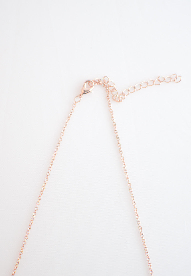 Natural Wood Pink Necklace - sanwaitsai - 2