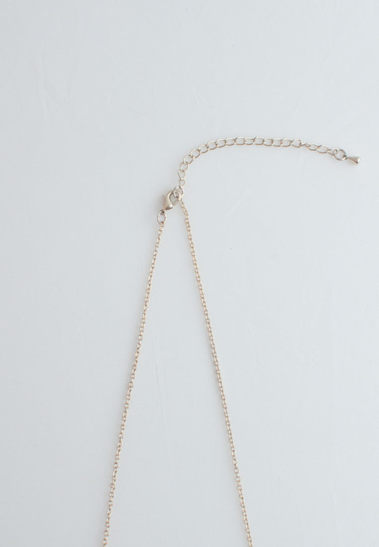 Matte Glass Necklace - sanwaitsai - 4
