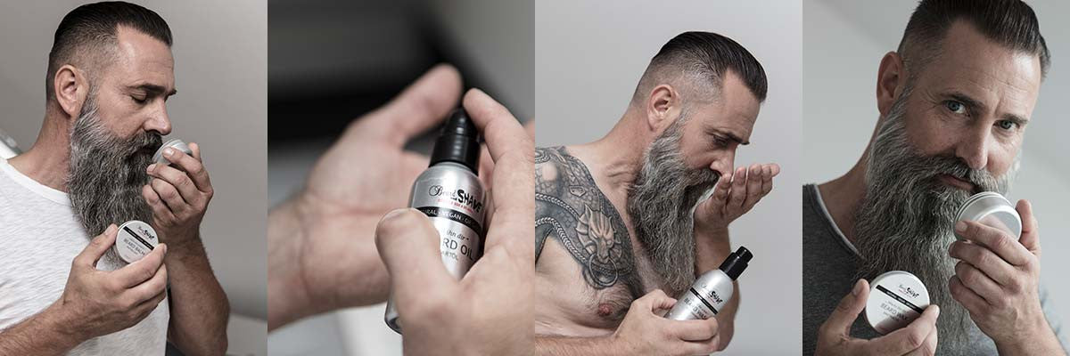 beard and shave grooming