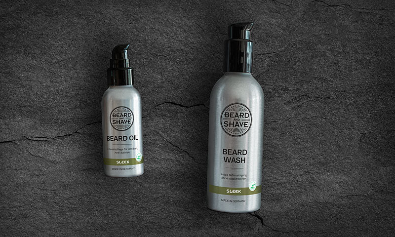 Beard and Shave Sleek-Produkte