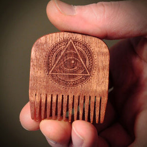 BigRed - No.5 All Seeing Eye Makore - Beard and Shave - 4