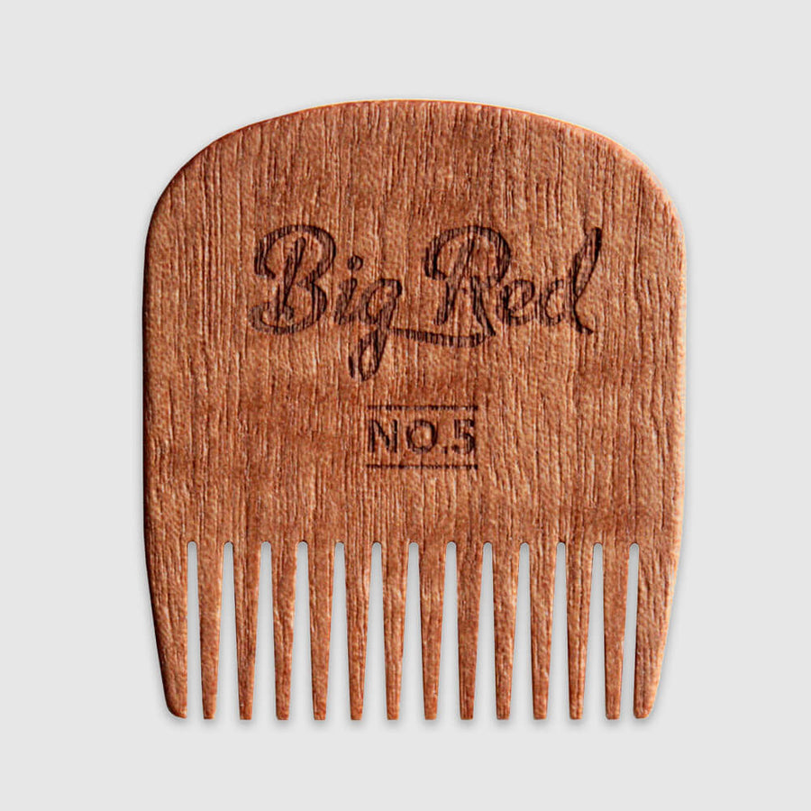 BigRed - No.5 Beards Til Death Skull Makore - Beard and Shave - 3