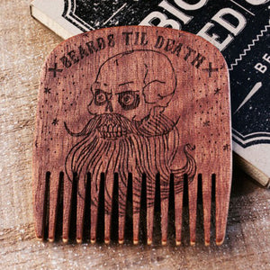 BigRed - No.5 Beards Til Death Skull Makore - Beard and Shave - 5