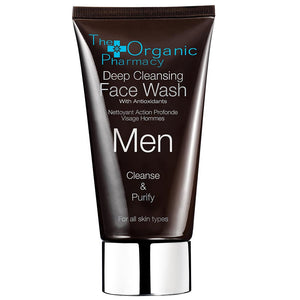 The Organic Pharmacy Deep Ceansing Face Wash - Beard and Shave