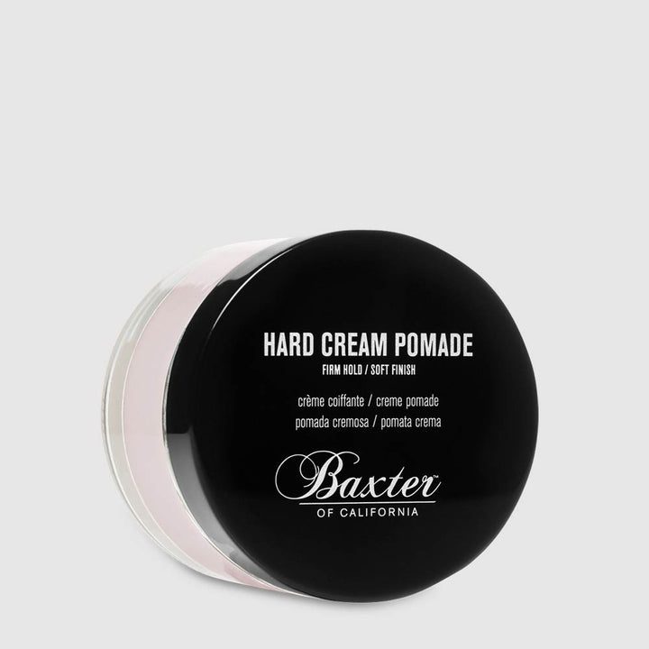 Baxter of California – Hard Cream Pomade – Firm Hold, Soft Finish