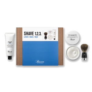 Baxter of California Shave 123 Kit - Starter Set Rasierpflege - Beard and Shave - 1