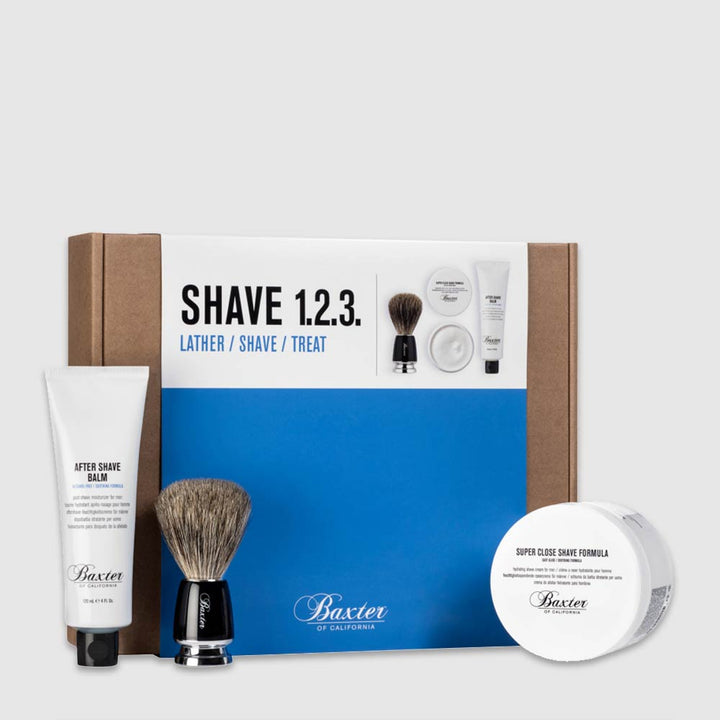 Baxter of California Shave 123 Kit - Starter Set Rasierpflege